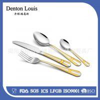 【厂家直销】不锈钢西餐餐具 304不锈钢刀叉 厂家直销 出口原单