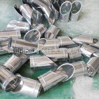 【江大】专业生产通风排气管道不锈钢 螺旋风管45度马鞍质量保证