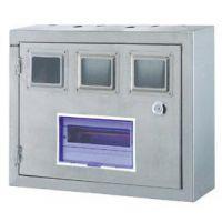 供应千亚3户不锈钢PZ40电表箱