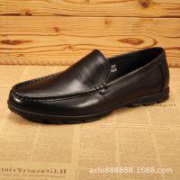真皮新款男鞋真皮男士休闲皮鞋低帮板鞋牛皮单鞋日常休闲厂家批发