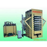 供应青岛国森专业生产8层刨花板热压机