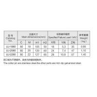 永固 U型 UJ型螺丝 u-1880 UJ-2080 乐清永固集团股份有限公司 1585855397
