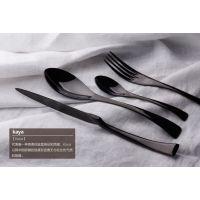 供应不锈钢餐具KAYA系列刀叉勺 精品酒店西餐餐具批发
