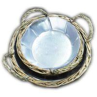 花篮透明塑料内胆套、工艺品pvc塑料花盆内胆、临沂国伟吸塑包装
