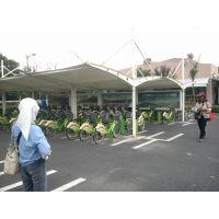 骏阳自行车棚厂家_新型自行车雨棚安装价格_合肥公共自行车棚设计