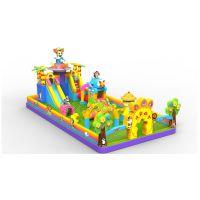 儿童乐园充气堡郑州卧龙熊出没滑梯价格