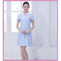 中山厂家隆群服饰支持来图来样定制韩版修身HSFD-02耐水洗不褪色护士服定制