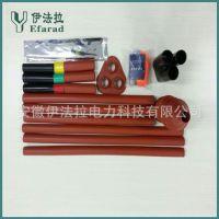 安徽厂家直销三芯热缩电缆附件、10KV户外终端 硅橡胶材质