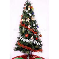 厂家直销立体圣诞鹿长串挂件 圣诞树雪花装饰品 毛毡圣诞挂件