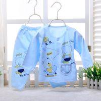 婴儿内衣套装纯棉开衫2015春季儿童夏装两件套薄款现货 厂家批发
