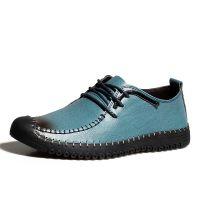 2015春季男鞋休闲鞋真皮男士商务低帮男式皮鞋男款鞋子韩版潮皮鞋
