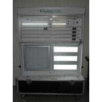 厂家专业设计定做LED展示柜、LED灯具展示柜、可折叠移动展示柜、按要求设计定做