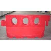 三孔滚塑水马 塑料围栏水马 交通水马长1.7米水马高度80公分