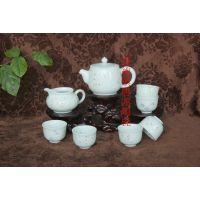 景德镇茶具 手绘青花茶具套装