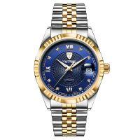 正品TEVISE特威斯男士手表防水新款时尚潮流男手表日期机械表