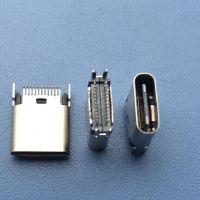 USB3.1母座_ TYPEC母座90度