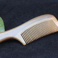 美洲绿檀木梳子批发 仙游厂家直销 木质美发梳子 檀木活性梳子