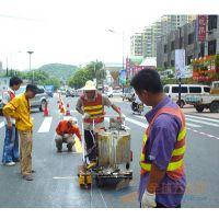 惠东哪有交通标线施工单位,吉隆热熔划线施工厂家