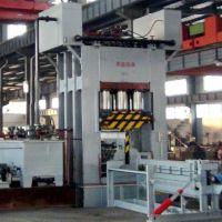 供应青岛国森机械制造人造板机械设备重竹集成材压力机械
