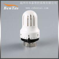 温控阀 暖气片恒温阀 散热器温包室内采暖系统 控制室内温度 WKT-8M30X1.5 外壳ABS