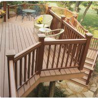 大连木塑地板 塑木地板 木塑材料应用灵活 可以应用于木材加工的任何领域 取代木材的环保材料