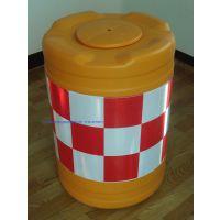 珠海捌柒伍道路反光防撞桶交通塑料防撞桶滚塑防撞桶批发