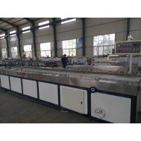 PVC竹木纤维墙板生产线