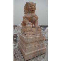 大型石狮子雕塑、辽宁石狮子、旺通雕塑