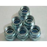 陕西厂家不锈钢/锌合金内丝接头供应 DPN型电气配管复合接头规格齐全