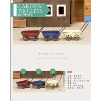 限时促销 zakka杂货创意摆设复古花园推车拍摄道具SLR053