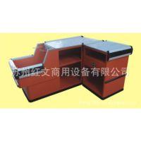 【厂家直销】底部防撞条装饰HW-148收银台 台面大陡坡放置购物篮
