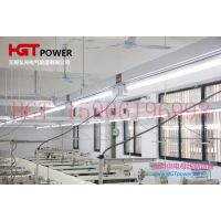 HGT照明母线槽 照明供电母线槽桥架 制衣厂灯架 服装厂裁剪母线安全美观便捷