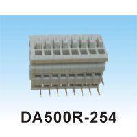 直销PCB电源接线端子 DA500R视频用接线端子 压扣式快速接线端子