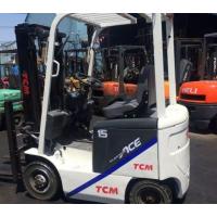 扬州【***实惠】二手tcm电动仓储搬运叉车/小型电瓶叉车