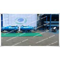 雪橇式混流泵型号价格、天津中蓝泵业卧式安装潜水混流泵