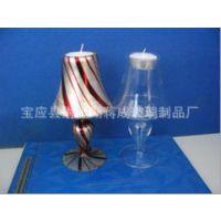 交期快吹制台灯 蜡烛器皿玻璃仿古玻璃烛台
