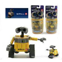 迪斯尼正版Wall.E-彩卡盒装瓦力机器人模型总动员6cm