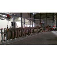 环龙数控工业纸管4机头螺旋纸卷管机