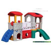 广西南宁市乐思宝幼儿园游乐设备 儿童塑滑滑梯 游艺设施 幼教设施 组合滑梯 儿童设备 工程塑料滑滑梯