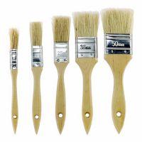 厂价供应棕毛油漆刷 木柄清洁毛刷 烧烤刷 猪毛刷子