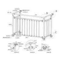 佳之合(在线咨询)、护栏栏杆、南京组装式护栏栏杆