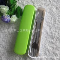 厂家供应新款彩盒不锈钢筷子,勺筷套装,礼品筷子套装,筷子套装