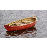江苏地区优质木制小船4米单头尖船 一头尖小木船