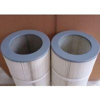 万泽空分设备旋装式覆膜长纤维除尘滤芯