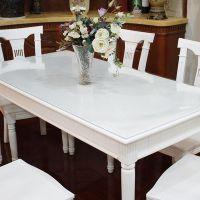 PVC防水透明餐桌布批发家用防油软玻璃塑料桌布台布家加厚桌垫