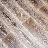 田格 金凤玉露木地板实木 欧式拉丝橡木木地板 超耐磨全实木地板