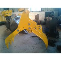 挖机钩机挖掘机抓木器抓木机抓杆机厂家批发直销寻代理