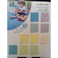 幼儿园卡通纯色PVC塑胶地板