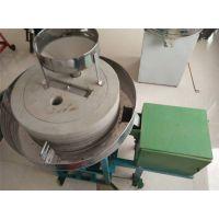 电动石磨面粉机 小型粮食加工设备 鼎达石磨面粉机