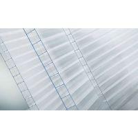 供应生态餐厅顶棚专用10mm四层PC阳光板